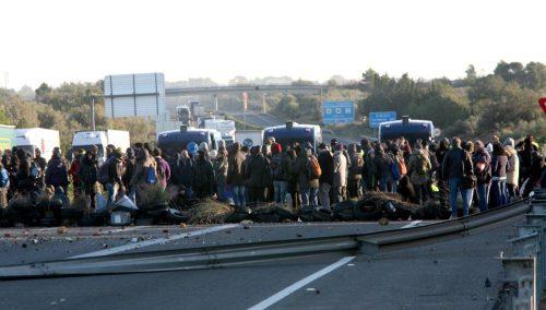 Los CDR vuelven a bloquear al transporte en Cataluña