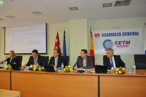 Asistentes a la Asamblea General de CETM Madrid