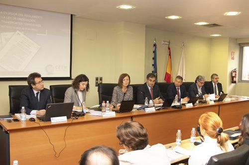 La CETM analiza la entrada en vigor del ROTT