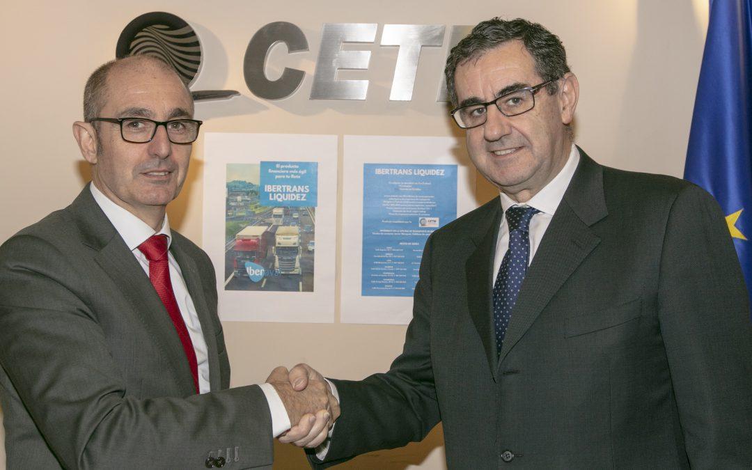 La CETM e Iberaval unen fuerzas para financiar al transporte de mercancías por carretera