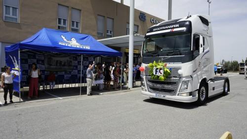 Un año más los transportistas celebran su fiesta