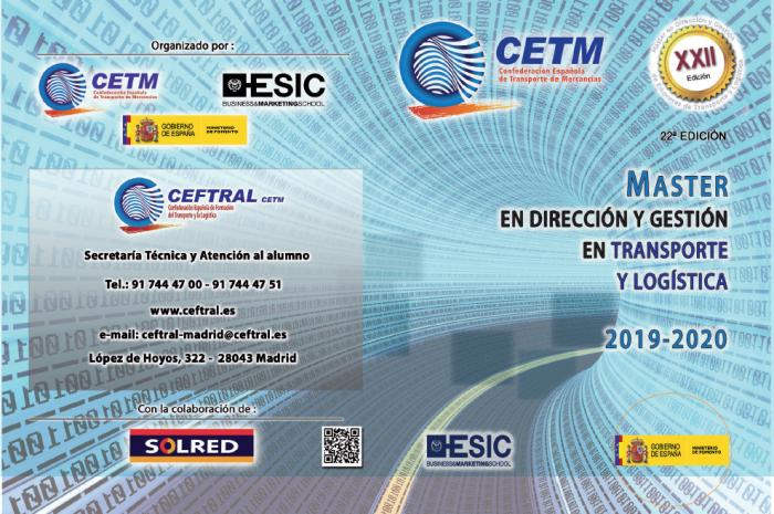 Finaliza el plazo de inscripción para el Máster de CEFTRAL