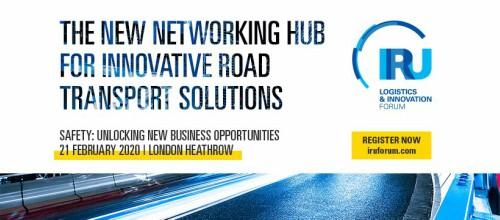 La IRU celebrará la segunda edición del Foro de Logística e Innovación en Londres