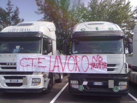 Huelga general en el transporte italiano