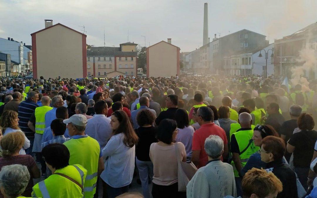 As Pontes convoca una huelga general el 16 de octubre por el cierre de la central térmica de Endesa