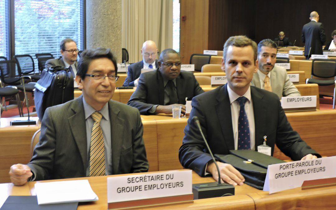 Miguel Pereira participa, a propuesta de la CEOE, en la Reunión de Expertos de la OIT en Ginebra