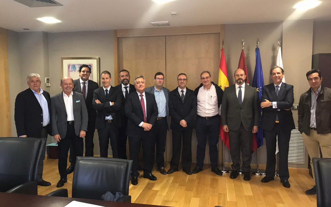CETM- Madrid se reúne con Pedro Rollán, candidato del PP al Senado