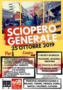 24 horas de huelga en Italia.