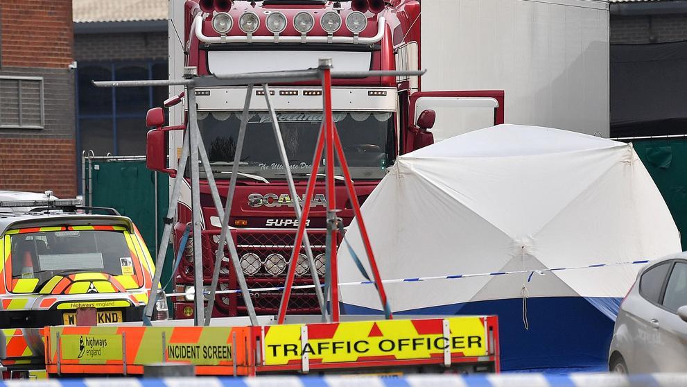 Detenido un conductor que transportaba 39 cadáveres