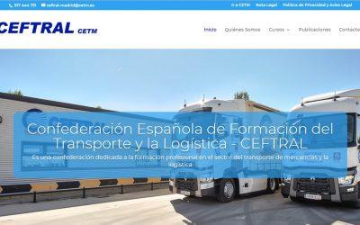 CEFTRAL estrena nueva página web