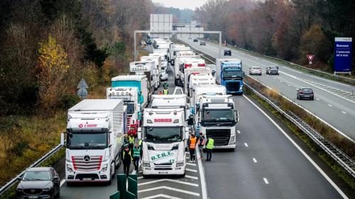 Huelga de transporte en Francia