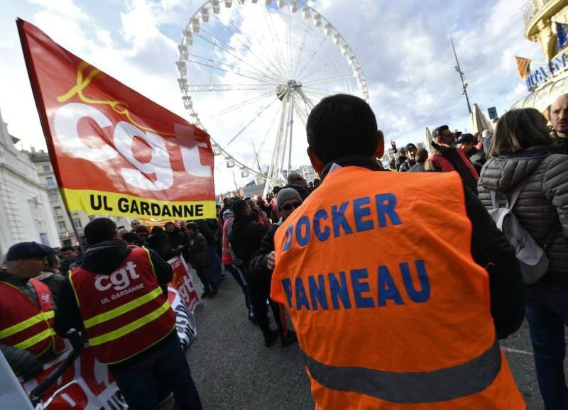 La CGT convoca otra huelga en los puertos marítimos franceses que se alargará hasta el 24 de enero