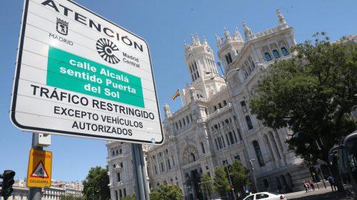 Si aún tienes dudas, estos son los vehículos que sí pueden acceder a Madrid 360