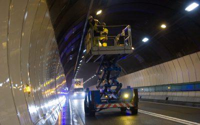 El túnel de Mont Blanc cerrará el 13 de enero por trabajos de mantenimiento