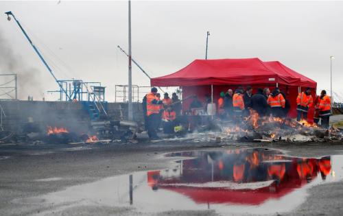 La CGT convoca huelga en los puertos marítimos franceses desde hoy hasta el jueves