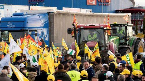 Los agricultores se manifestarán este martes en Toledo y el miércoles en Madrid