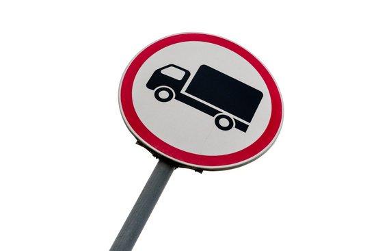 Se suspenden las restricciones al tráfico de camiones en el País Vasco