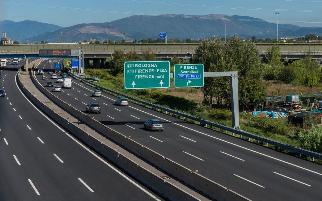 Corte en la autopista italiana A1 a partir del lunes 25 de mayo