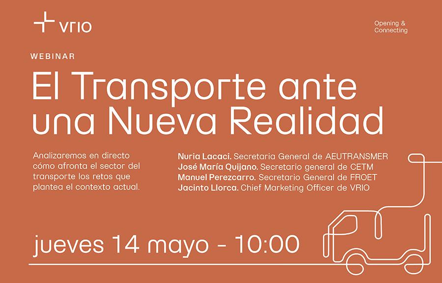 CETM participa en el webinar 'El Transporte ante una Nueva Realidad', organizado por Vrio