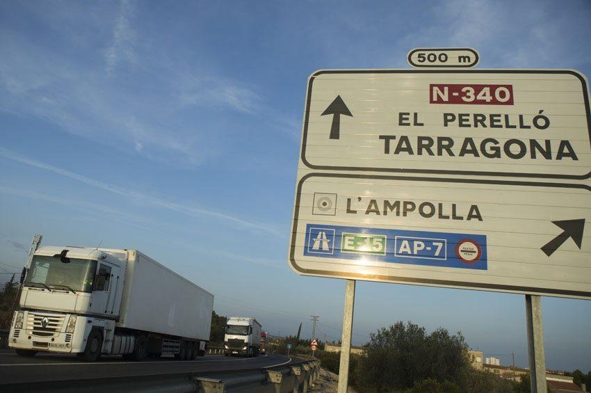 Vuelven las restricciones a la circulación de camiones en Cataluña