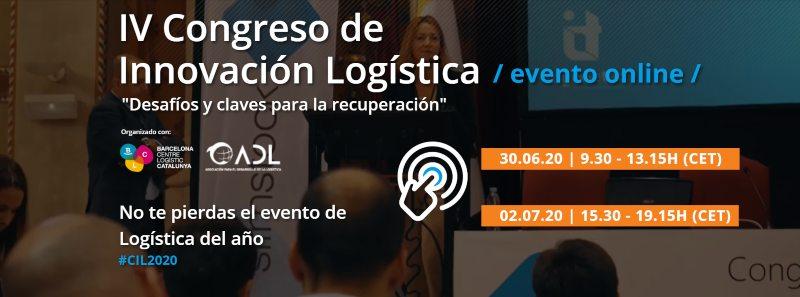 El IV Congreso de Innovación Logística se adapta a la crisis del Covid-19 y se convierte en un evento online