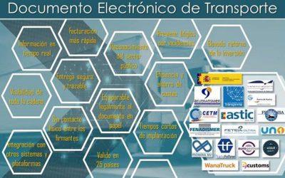 El Grupo de Trabajo para impulsar el uso del Documento Electrónico de Transporte suma nuevos integrantes