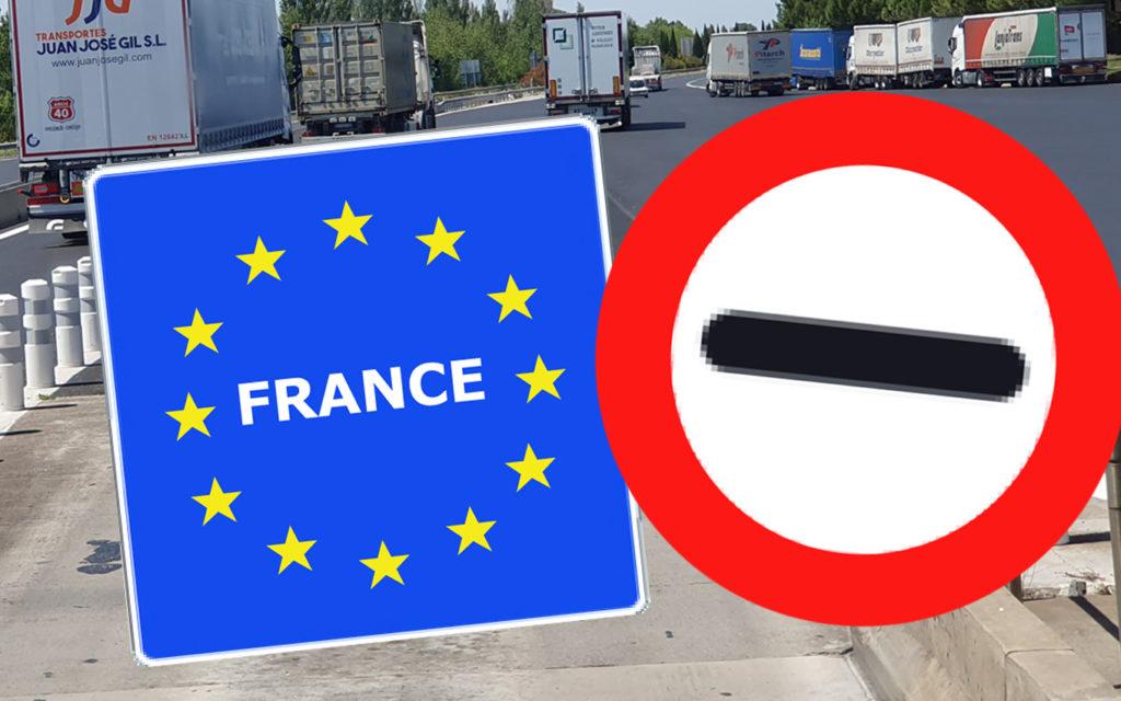 Restricciones para camiones de más de 7.500 kilos los días 13 y 14 de julio en la frontera entre el País Vasco y Francia