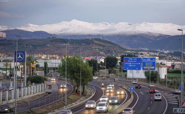 Afección al tráfico a partir del 22 de septiembre en la A-44, Variante Exterior de Granada, debido a las obras