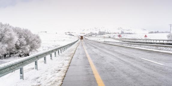 Alerta por nieve y bajas temperaturas a partir del jueves 7 de enero