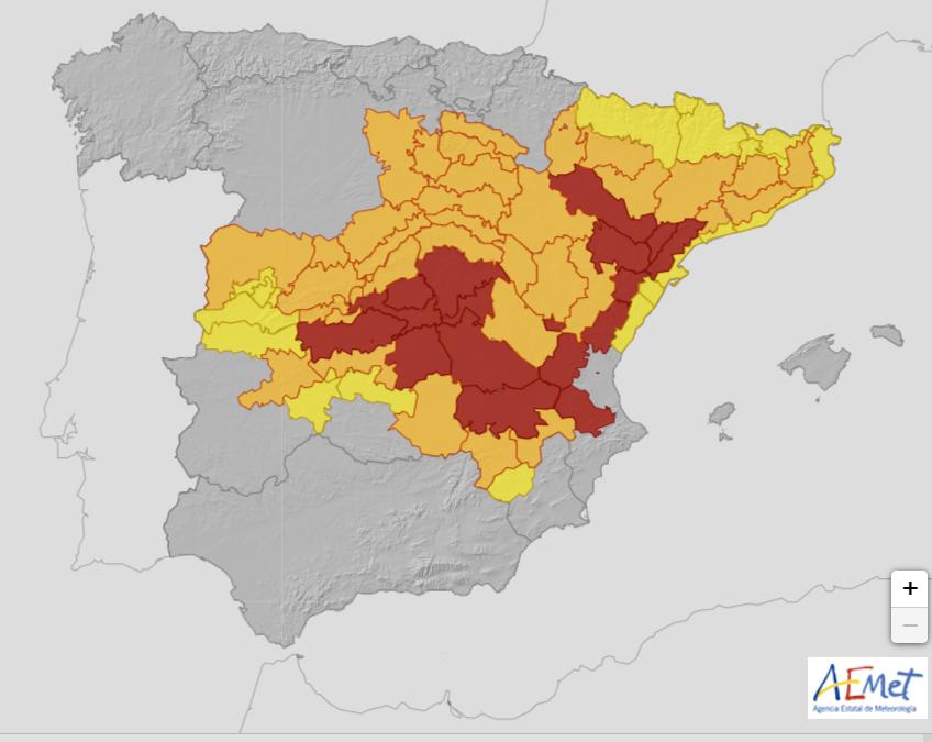 Borrasca Filomena: las nevadas se desplazarán hacia el norte de España este sábado