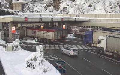 Cierre del Túnel de Mont Blanc el próximo 8 de febrero