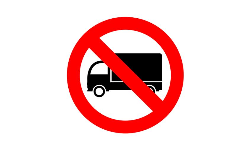 Publicadas las restricciones a la circulación de camiones en el País Vasco en 2021