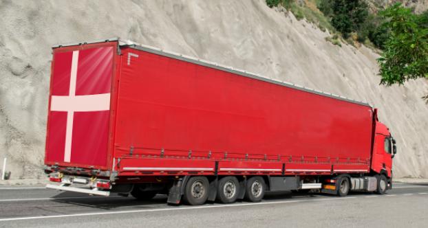 Camión Dinamarca