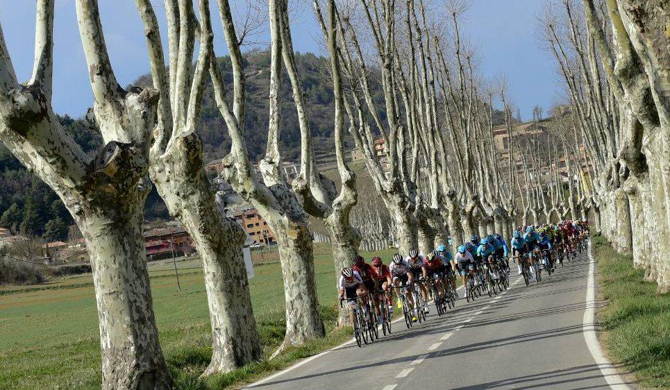 Afecciones al tráfico en las carreteras catalanas debido al paso de la Vuelta Ciclista a Cataluña 2021