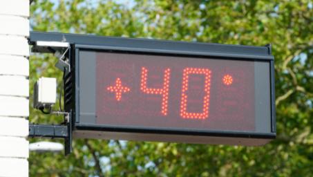 Llega la primera ola de calor del verano con temperaturas que superarán los 40 grados