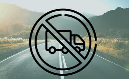 Cataluña amplía el tramo restringido de la N-240