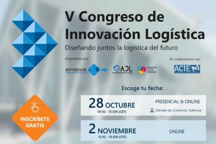 El V Congreso de Innovación Logística regresa con fuerza y se celebrará en formato híbrido y online